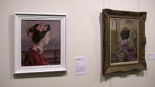 第3章「回想の旅」 そごう美術館 生誕140年 中澤弘光展