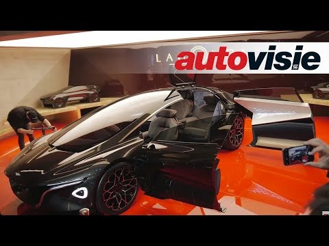 Aston Martin en Lagonda Vision - Autosalon Genève 2018