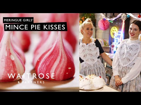 Christmas With The Meringue Girls | Mince Pie Kisses | Waitrose