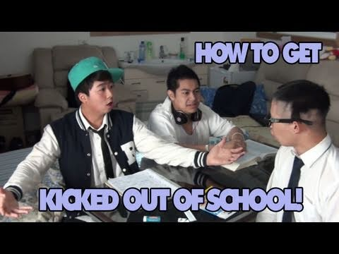 Getting KICKED out of SCHOOL! - YouTube Kicked Out Of College
