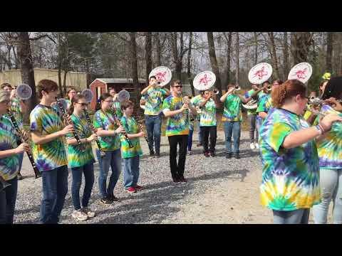 Stanhope Elmore High School Marching Band 2019 Mardi Gras Parade