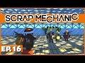 Scrap Mechanic - Ep. 16 - Multiplayer Scrap Ball! - Let's Play Scrap Mechanic Gameplay