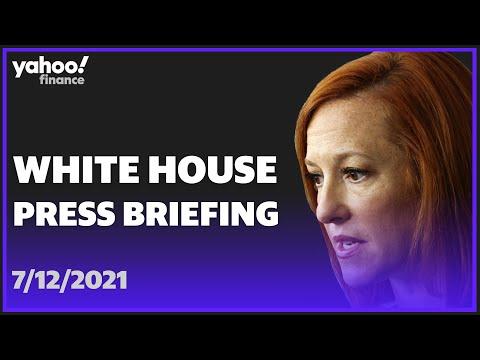 White House Press Secretary Jen Psaki holds press briefing