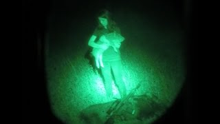 Pig Chase with Night Vision