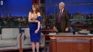 لماذا خلعت الكوميدية تينا فيه ملابسها على برنامج ليتيرمان؟