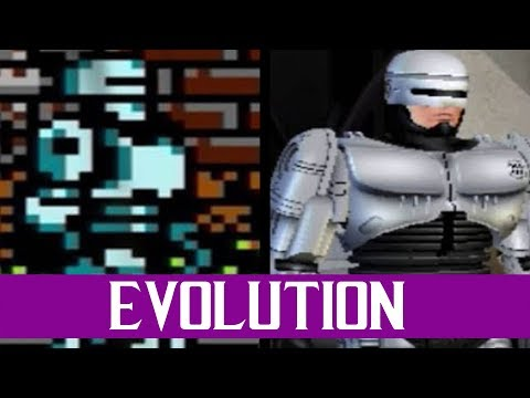 Evolution Of RoboCop Games (1988-2003)