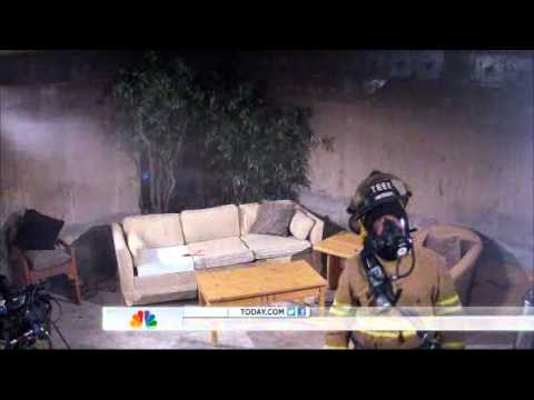 "NBC TODAY Show Rossen Reports  ""Some smoke detectors may not go off in time"" - 10/03/2012"