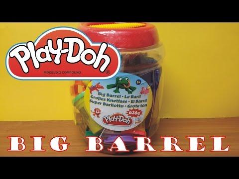 PLAY-DOH BIG BARREL 626g PRODUCT REVIEW CREATIVE TOYS ΕΚΠΑΙΔΕΥΤΙΚΟ ΒΙΝΤΕΟ ΓΙΑ ΠΑΙΔΙΑ