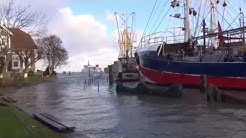 Sturmflut Neuharlingersiel 2013