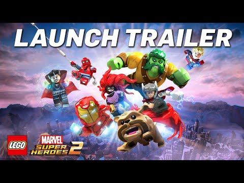 LEGO® MARVEL SUPER HEROES 2 Launch Trailer