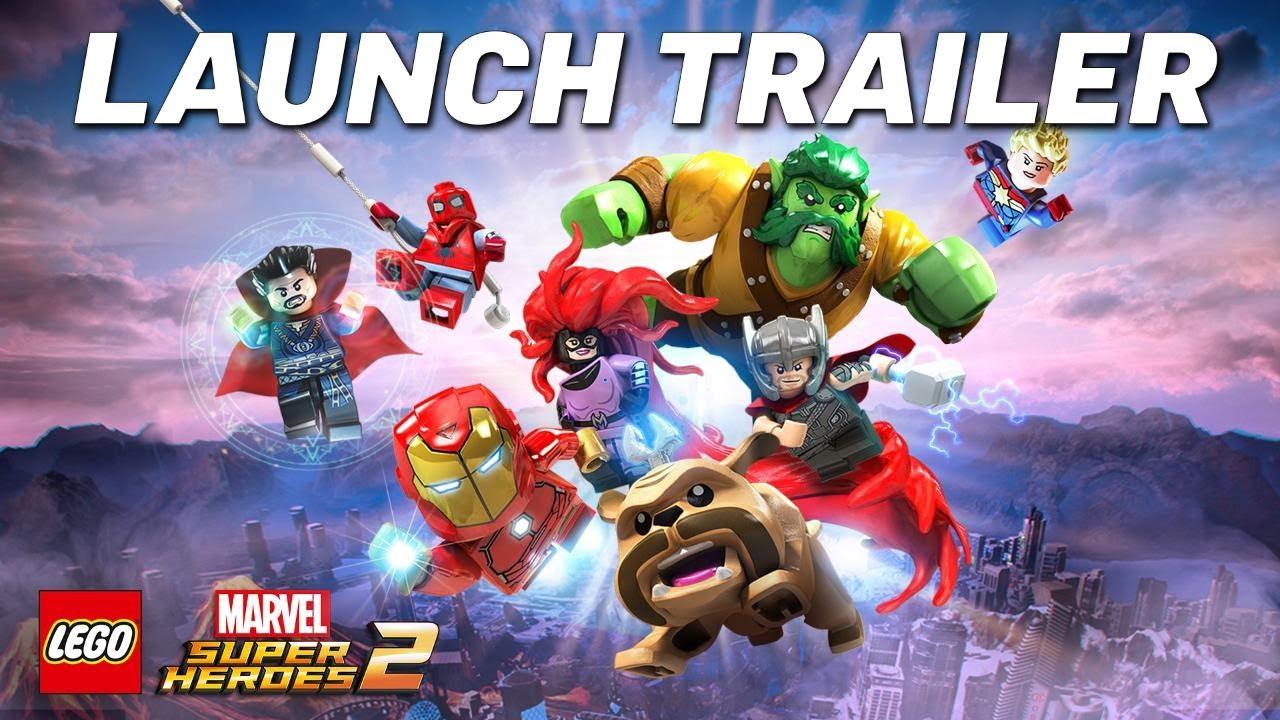 Lego Marvel Superheroes 2 -- Hooked on a feeling [This Week in Gaming]