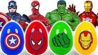 It's a dinosaur! If you touch Marvel Avengers surprise egg, turn into Hulk, Spider Man! - DuDuPopTOY