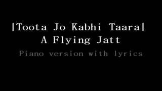 Download Hindi Video Songs - Toota Jo Kabhi Tara | Piano version | A Flying Jatt | Atif Aslam | Tiger Shroff & Jacqueline F