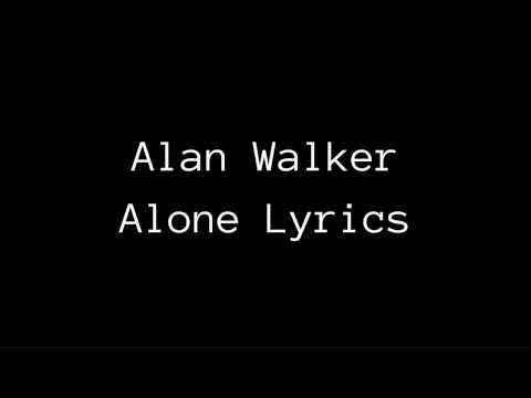 Alan Walker I'm Not Alone Lyrics