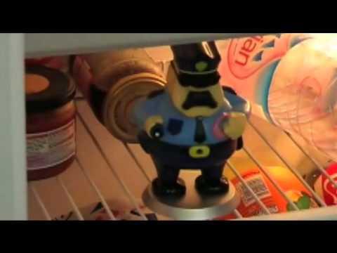Kühlschrank Alarm : Ausgefallenes geschenk kühlschrank alarm youtube