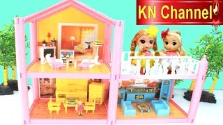 ngi nh bp b kn channel   ngi nh trong mơ   dream house toys for baby doll