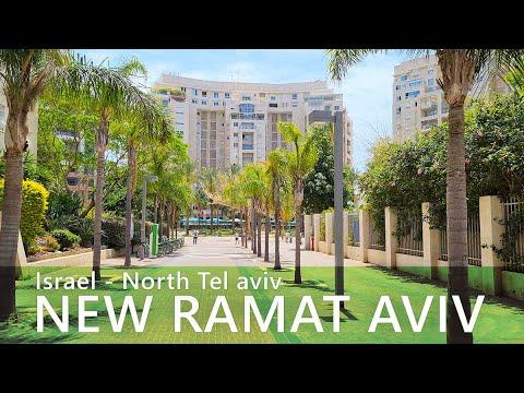 Download Israel, Virtual Walk in North TEL AVIV. Ramat Aviv ha-Hadasha neighborhood