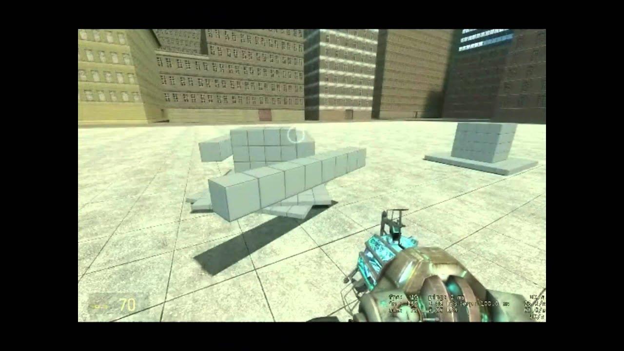 Tutorial- Garry's Mod simple aim position turret