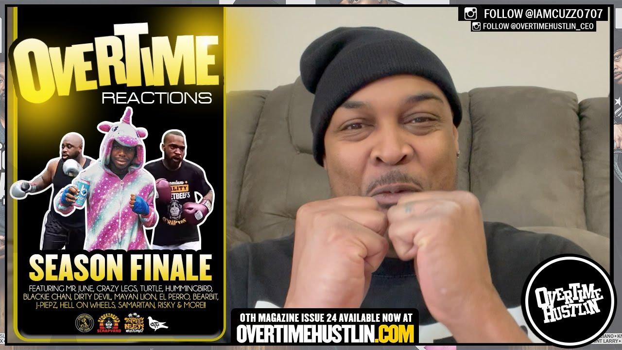 Overtime Reactions Season Finale (StreetBeefs / StreetBeefs ScrapYard / Westcoast) Hosted by Cuzzo