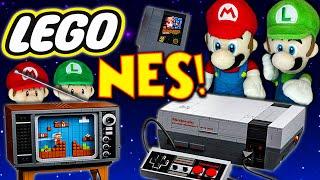 Mario and Luigi's Lego Nintendo Entertainment System! - Super Mario Richie