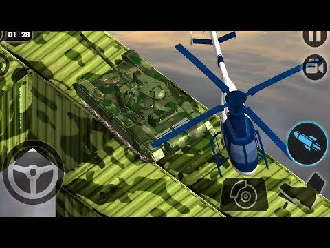Impossible Army Tank Driving Simulator Tracks 2017 - Android Game Play FHD