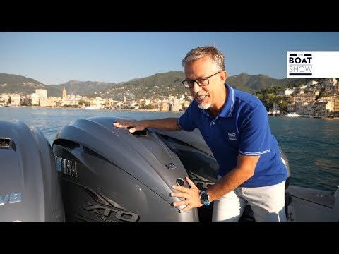 [ENG] YAMAHA V8 425 XTO - Review Outboard Engine - The Boat Show