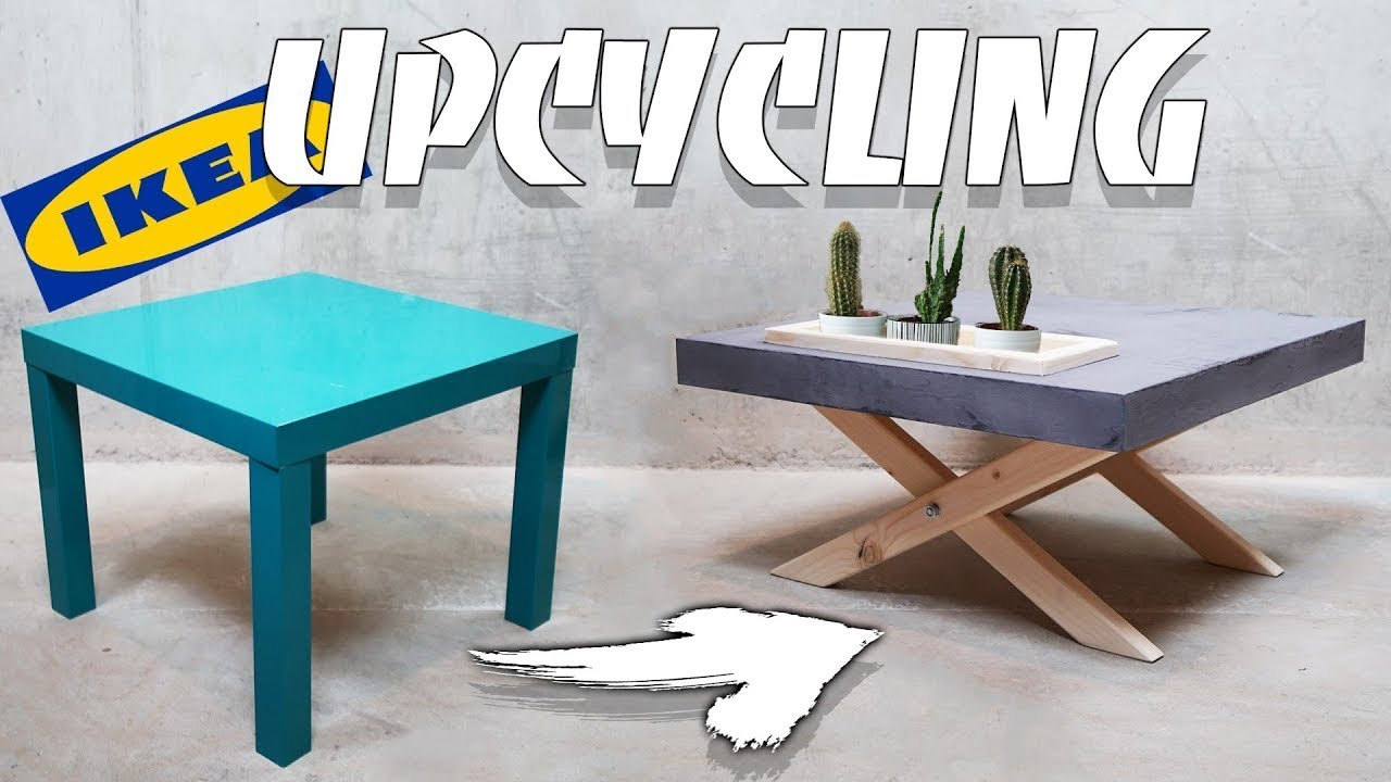 ikea lack diy upcycling zum stylischen couchtisch easy alex youtube. Black Bedroom Furniture Sets. Home Design Ideas