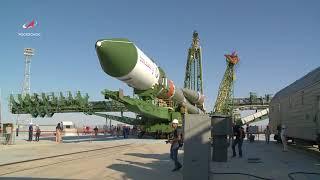 РН «Союз-2.1а» с ТГК «Прогресс МС-09». Вывоз