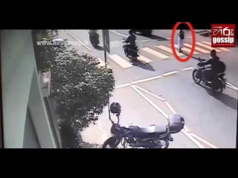 Maharagama Accident Cctv Video