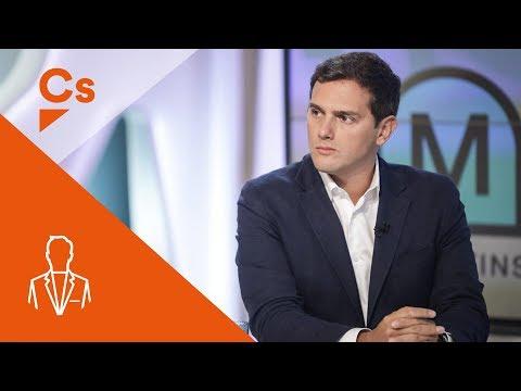 Albert Rivera. Entrevista a 'Els Matins' de TV3