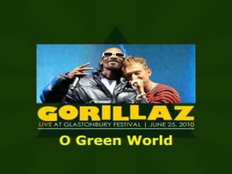 Gorillaz - O Green World (Live at Glastonbury 2010)