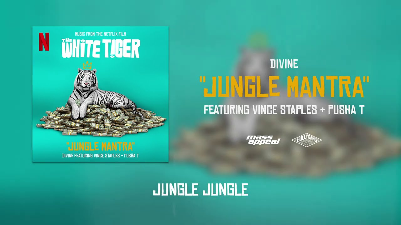 DIVINE - Jungle Mantra Feat. Vince Staples & Pusha T | The White Tiger (Prod. by Karan Kanchan)