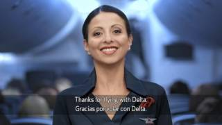 delta airlines b747 400 safety video