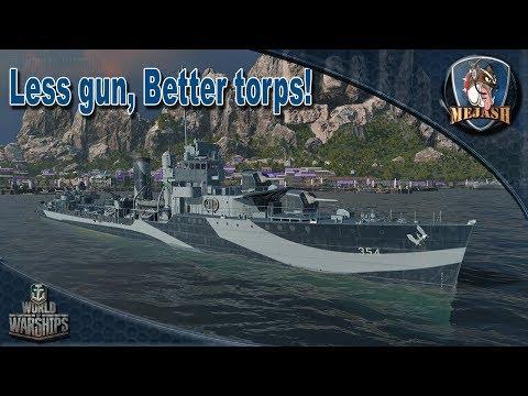 Monaghan B hull: WIP USN Destroyer. Less guns, better torps