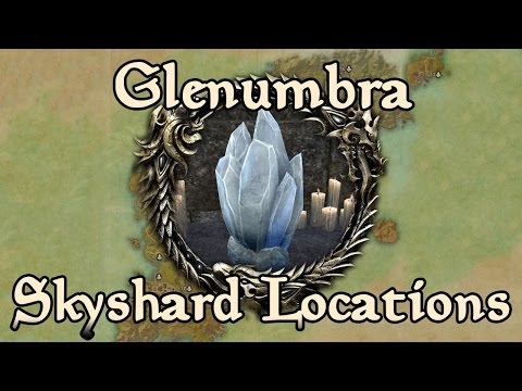ESO: Glenumbra All Skyshard Locations (updated For Tamriel Unlimited)