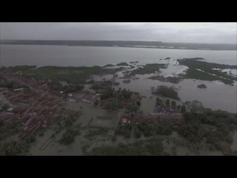 Brazil: 6 killed, 30,000 displaced in floods