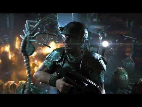 Aliens: Colonial Marines - Cinematic-Trailer: »Contact« (Extended Version)