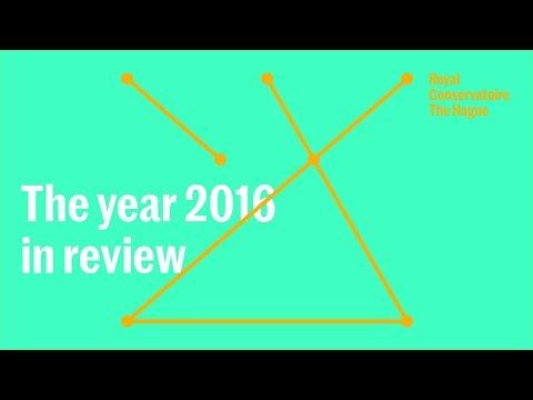 Koninklijk Conservatorium: 2016 in review