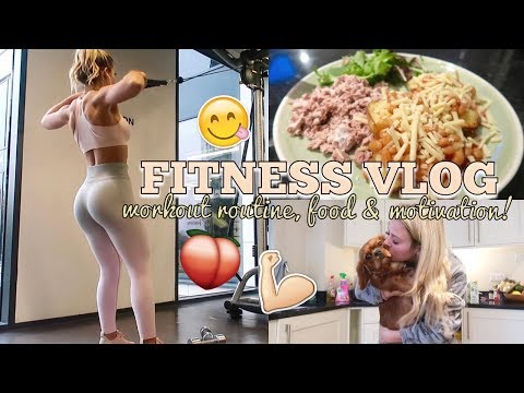 FITNESS VLOG: PREPARING FOR THE MALDIVES! GOALS, FOOD & WORKING OUT