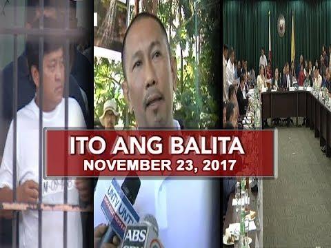 UNTV: Ito Ang Balita (November 23, 2017)