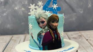 Disney Frozen Elsa &amp Anna Cake  Frozen 2 Cake