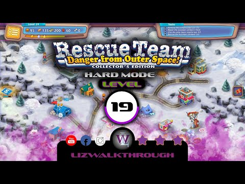 Rescue Team 10 CE - Level 19 Walkthrough - Danger from Outer Space! |