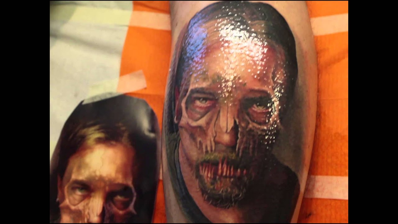 Favorito Alex de Pase - How it is made! - Tatuaggio realistico - Realistic  FZ52