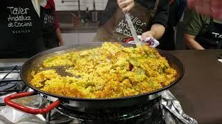 Cocina Pollo Paella en Sevilla