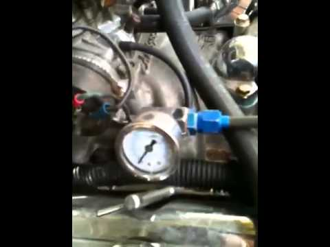 84 Chevy 305 fuel pump issue - YouTube