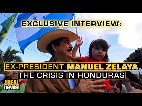 Exclusive Interview: Ex-President Manuel Zelaya – The Crisis in Honduras