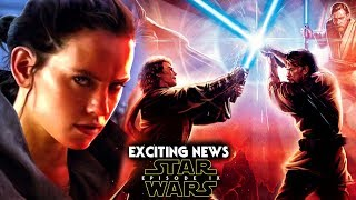 Star Wars Episode 9 Exciting News! Prequel Trilogy Connection