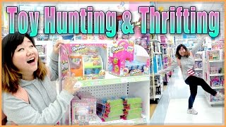 TOY HUNTING & THRIFTING (with Jenny) - My Little Pony, Shopkins, TMNT and more!