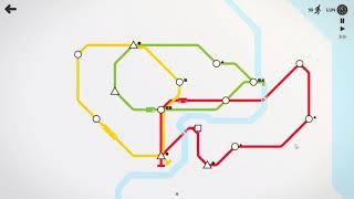 Mini Metro Gameplay
