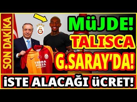 YILIN TRANSFER BOMBASI!! TALİSCA GALATASARAY'DA!! İŞTE ALACAĞI ÜCRET!!
